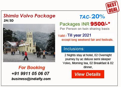 Best Holiday Package Deals for Goa, Manali, Shimla, Kerala